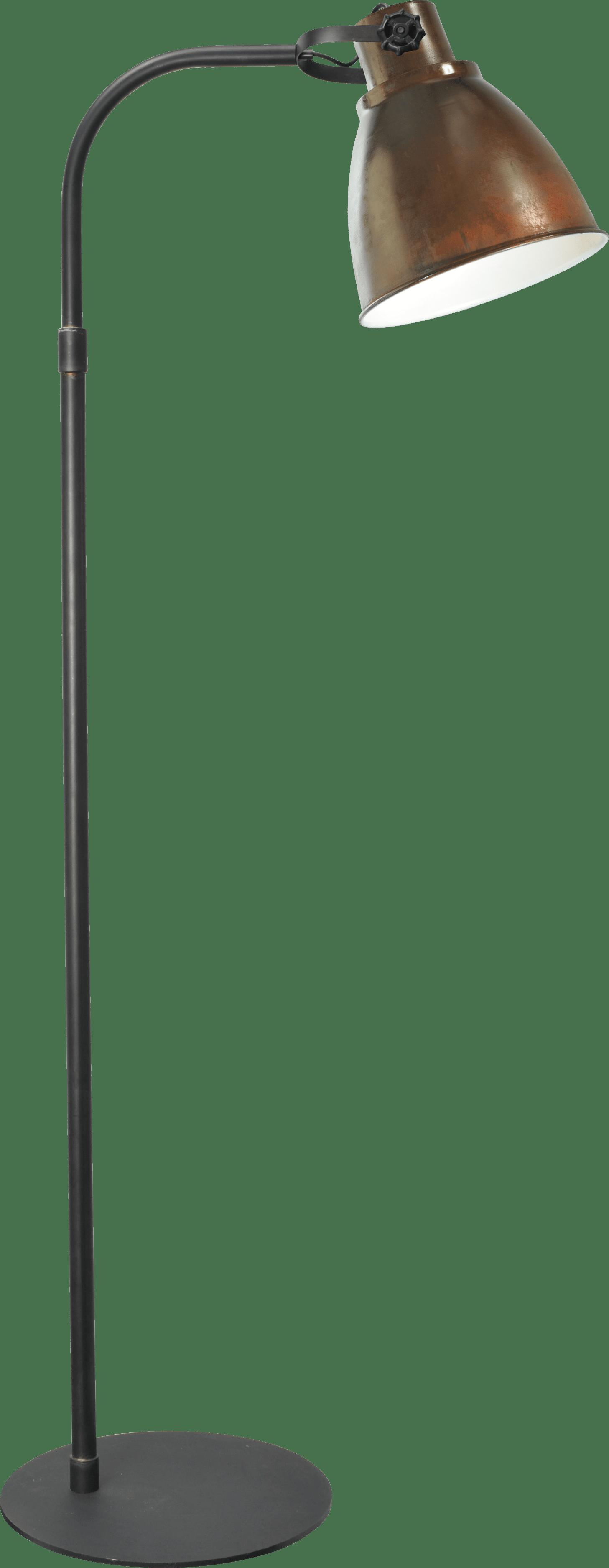 Floorlamps VL FLOORLAMPS GUNMETAL H.176CM
