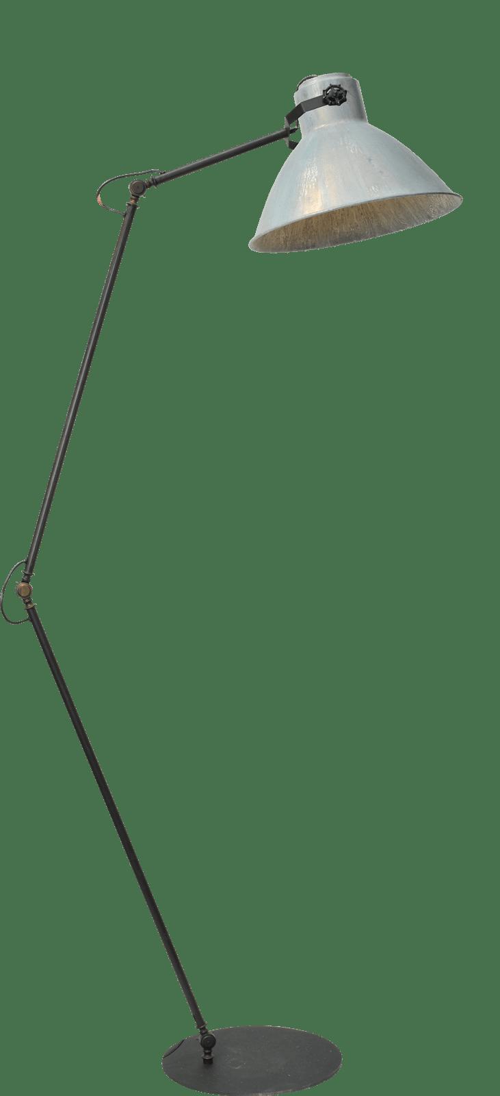 Floorlamps VL FLOORLAMP GUNMETAL H.205CM