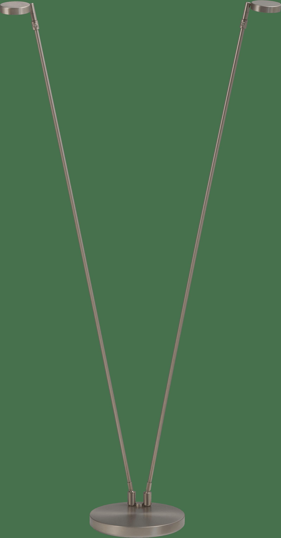 Denia 2 VL DENIA 2 NIKKEL 2X LEESLAMP H.130CM