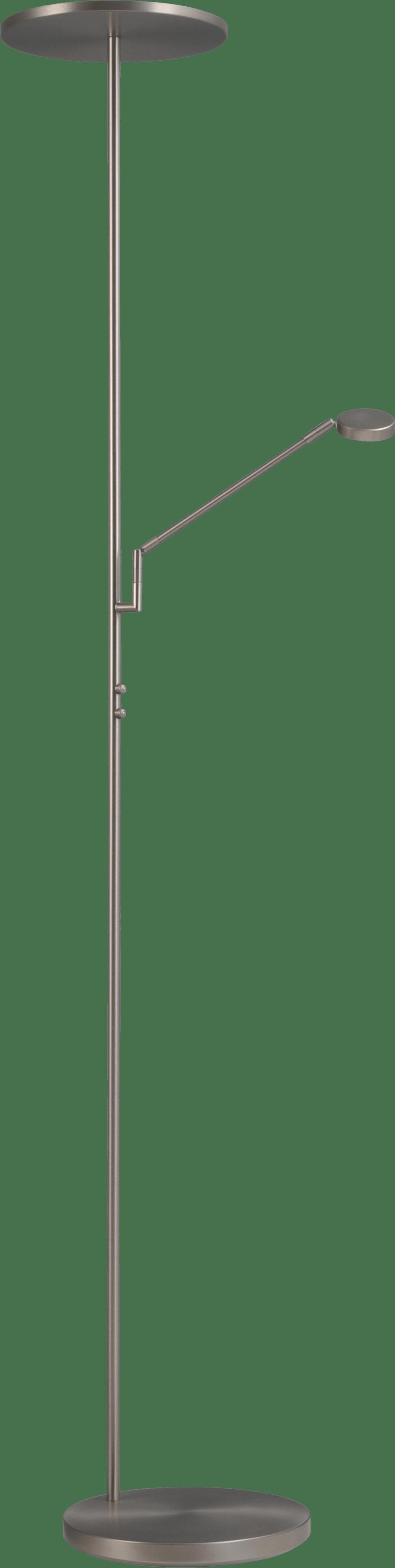 Denia 2 VL DENIA 2 NIKKEL UPL+LEES H.185CM LED