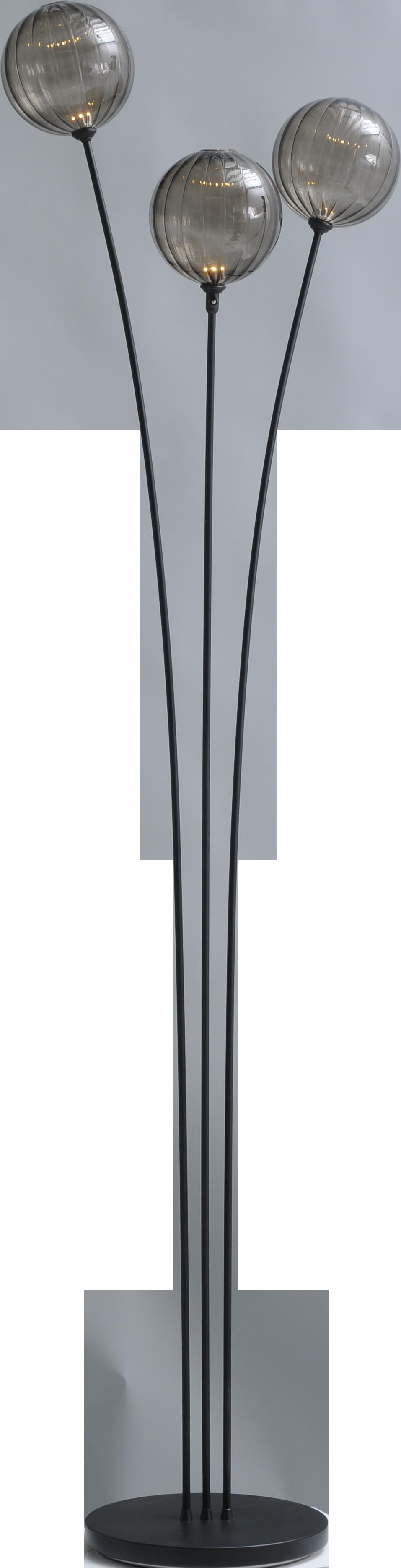 Bocca VL BOCCA BLACK 3LT H.180CM PUSH-DIM