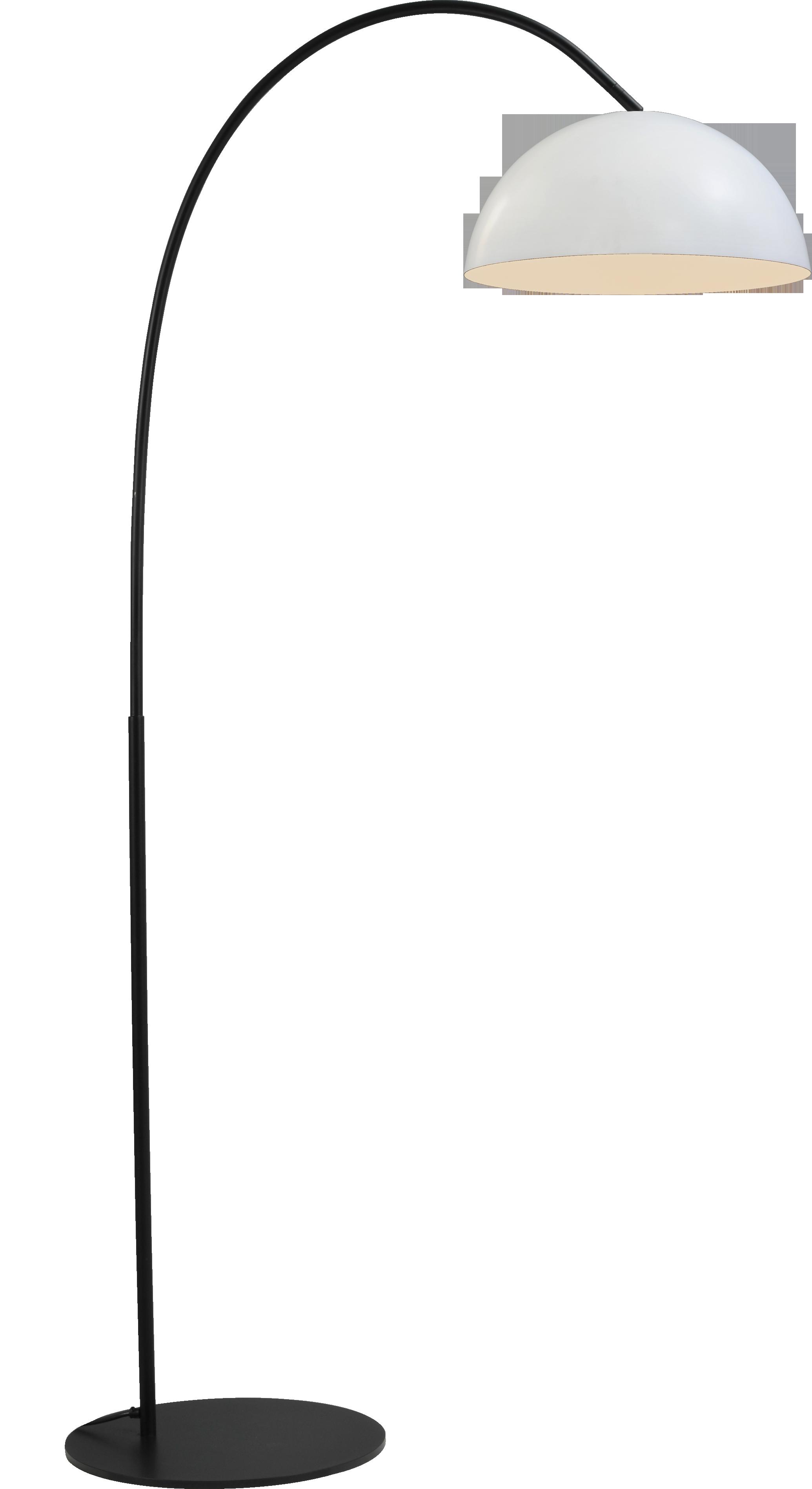 Larino White VL LARINO ARCH MATT BLACK H.186CM