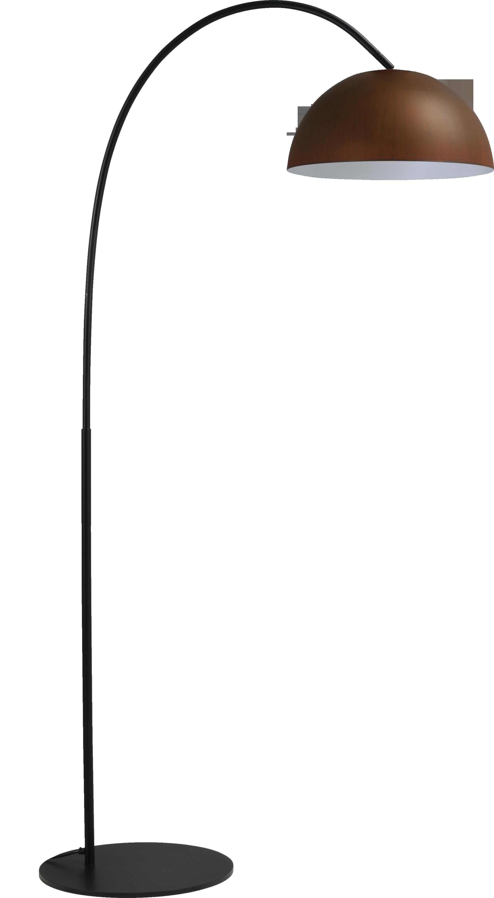 Larino Rust VL LARINO ARCH MATT BLACK H.186CM
