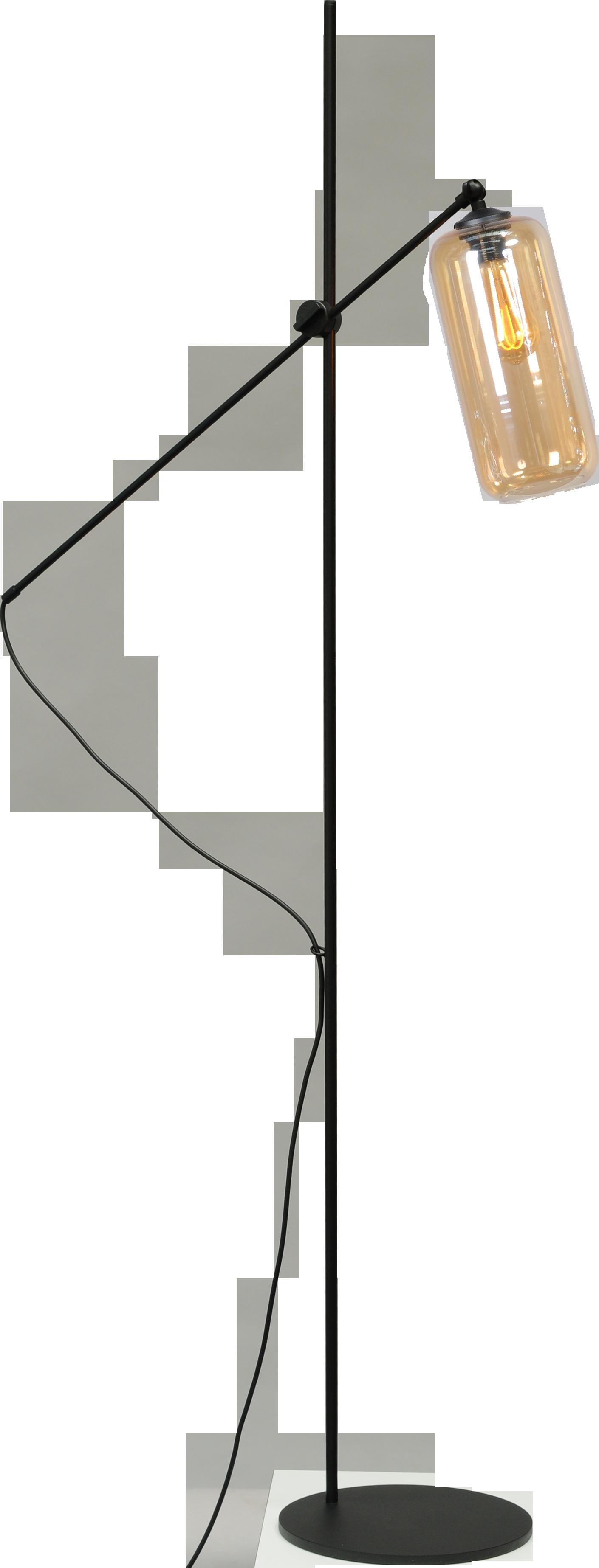 Quinto Amber VL QUINTO 1LIGHT H.161CM MATT BLACK