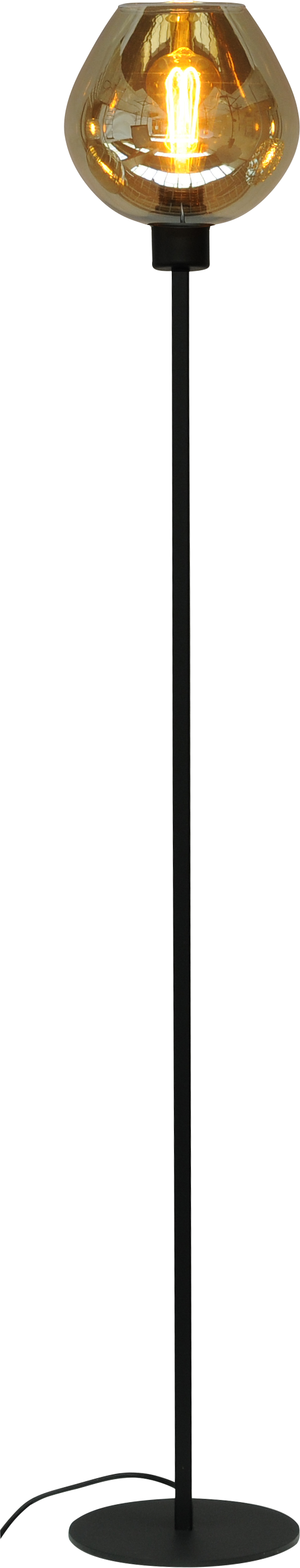 Quinto Smoke VL QUINTO 1LTS BLACK H.150CM1X E27