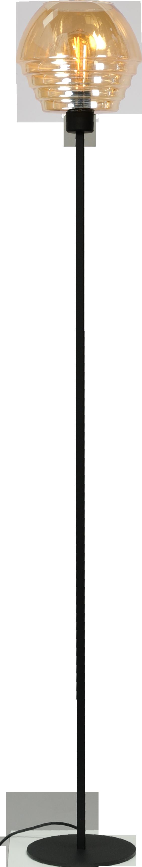 Quinto Amber VL QUINTO 1LTS BLACK H.175CM1X E27