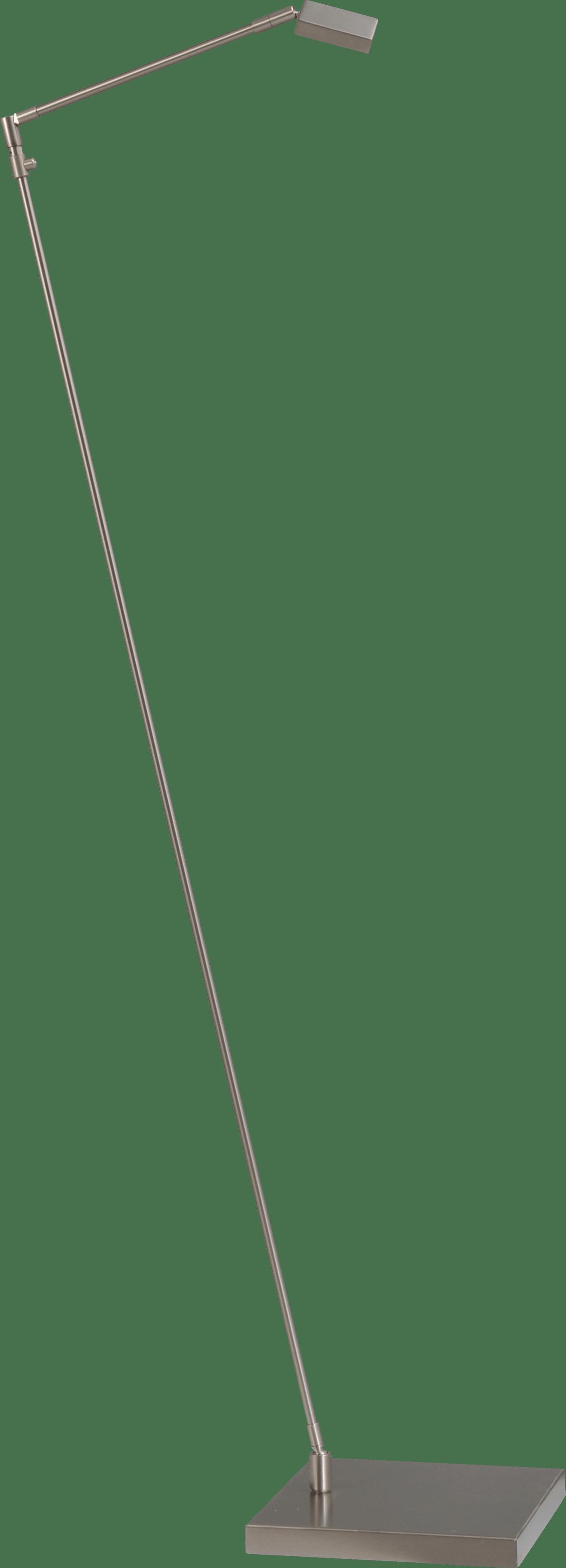 Denia 1 VL DENIA 1 NIKKEL ZWENK LEESLAMP H.130CM