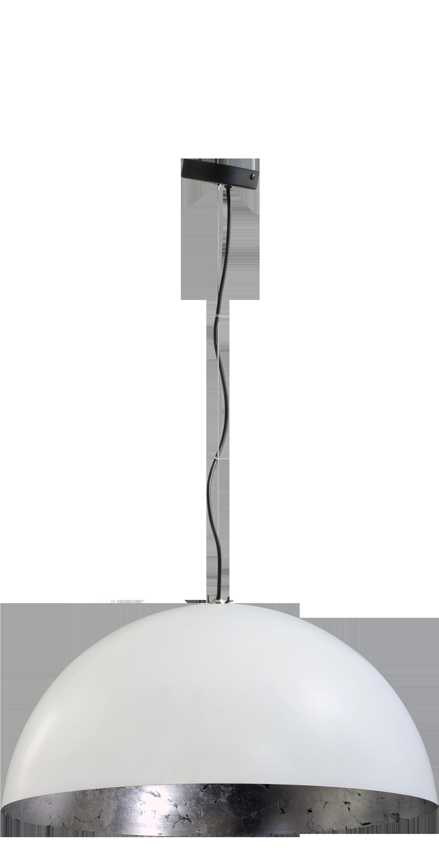 Larino White HL LARINO Ø50CM MATT WHITE OUTSIDE