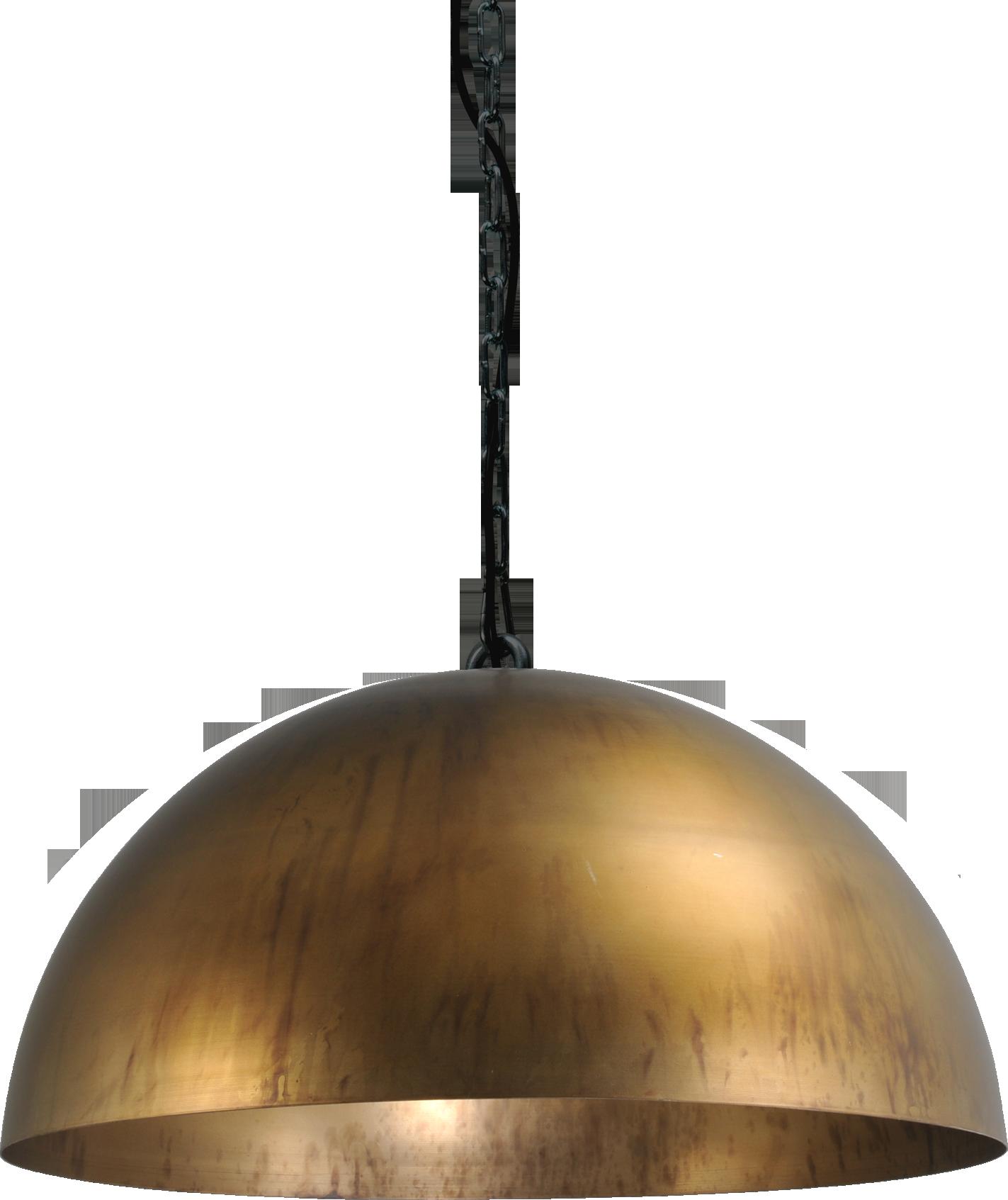 Larino Antique Brass HL LARINO Ø50CM ANTIQUE BRASS OUTSIDE