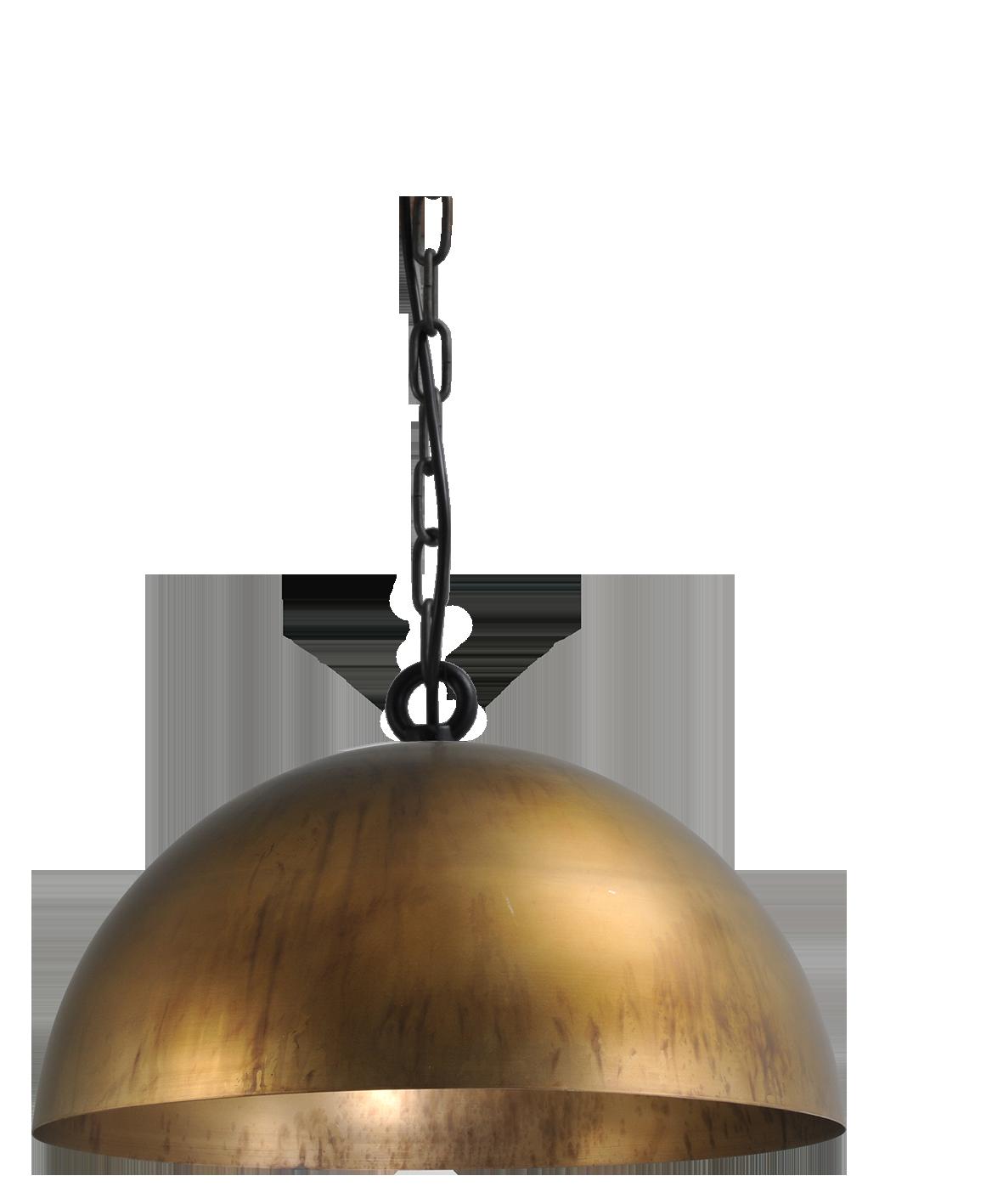 Larino Antique Brass HL LARINO Ø40CM ANTIQUE BRASS OUTSIDE
