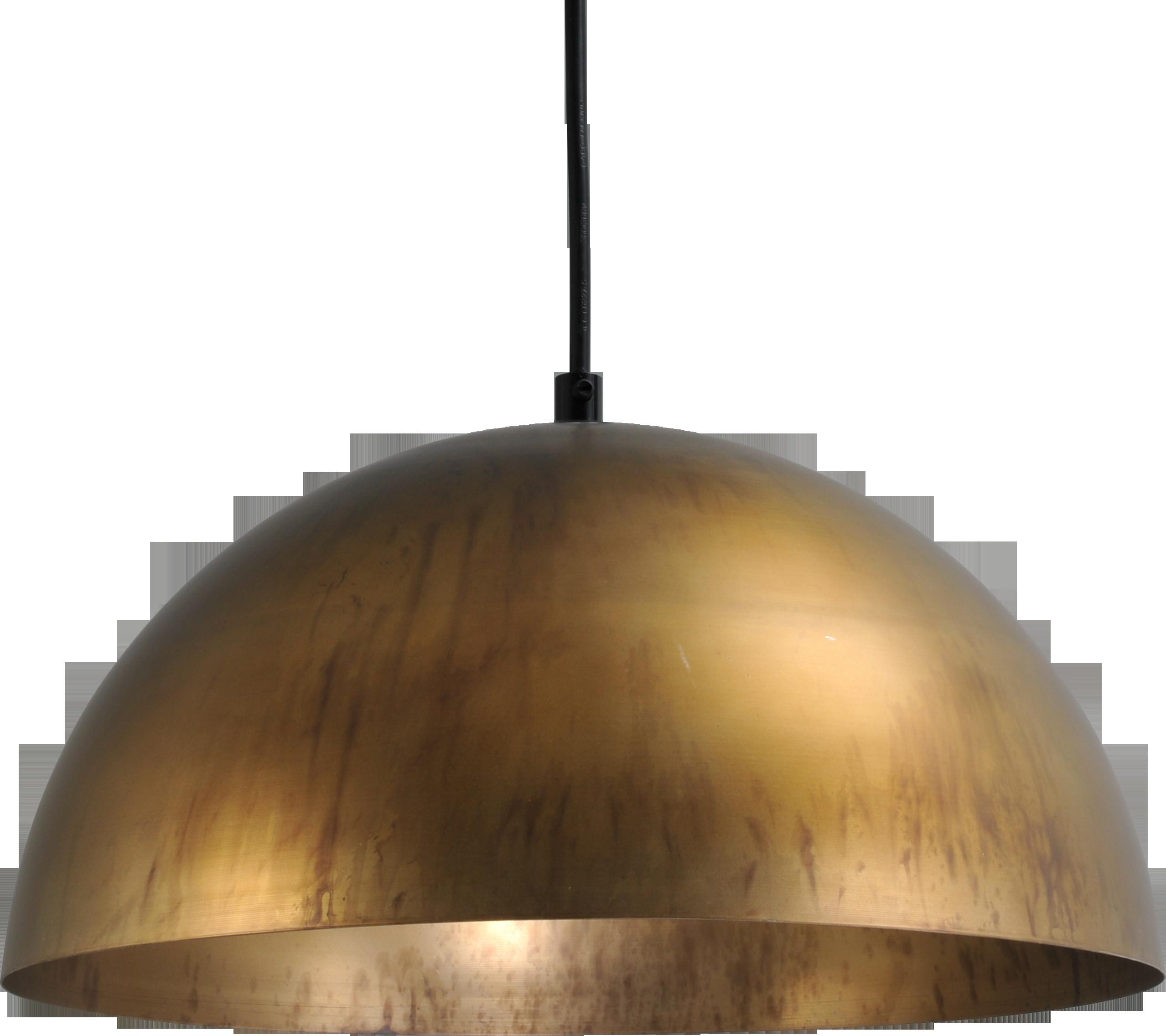 Larino Antique Brass HL LARINO Ø30CM ANTIQUE BRASS OUTSIDE