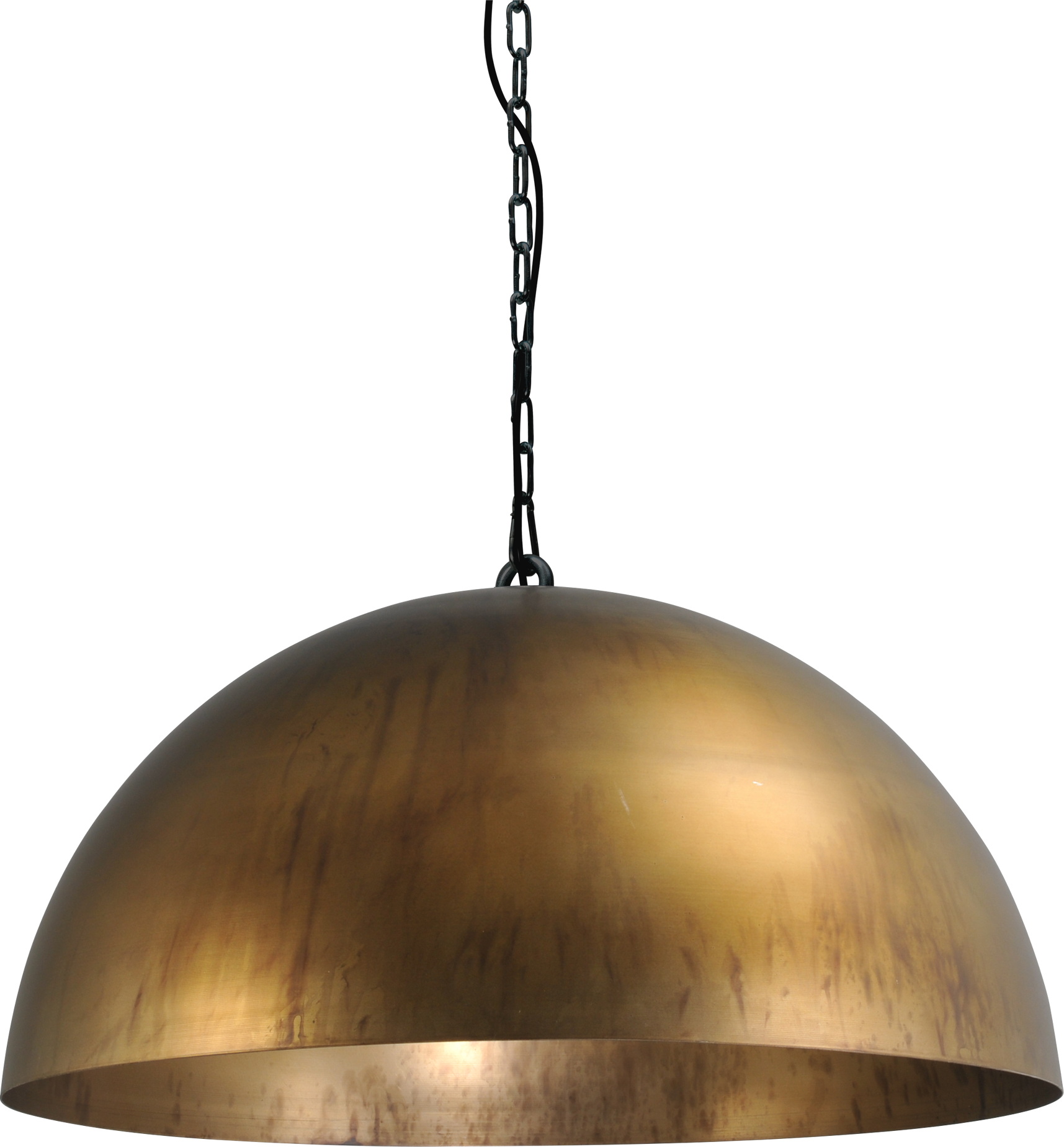Larino Antique Brass HL LARINO Ø60CM ANTIQUE BRASS OUTSIDE