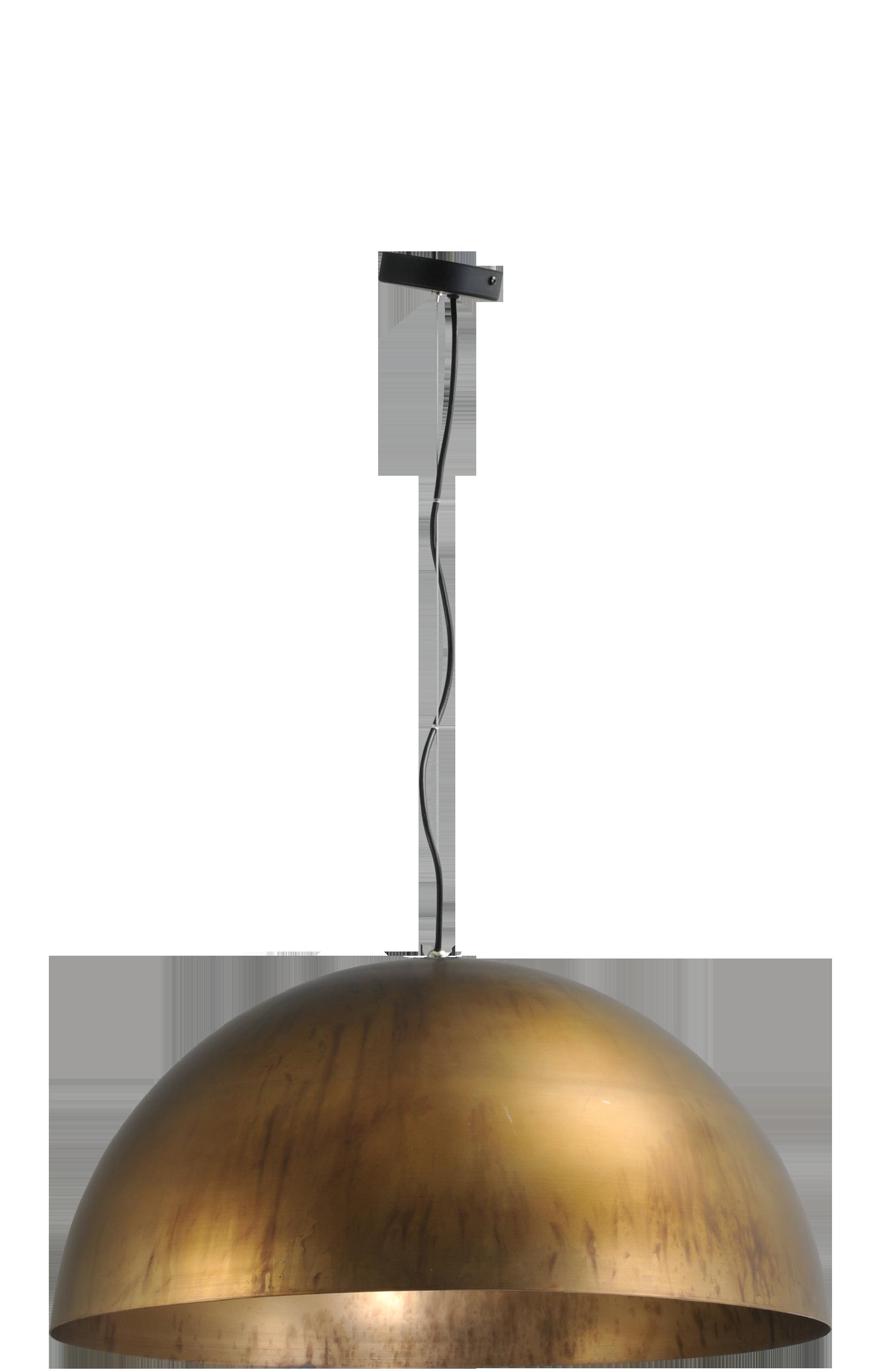Larino Antique Brass HL LARINO Ø60CM ANTIQUE BRASS OUTSIDE