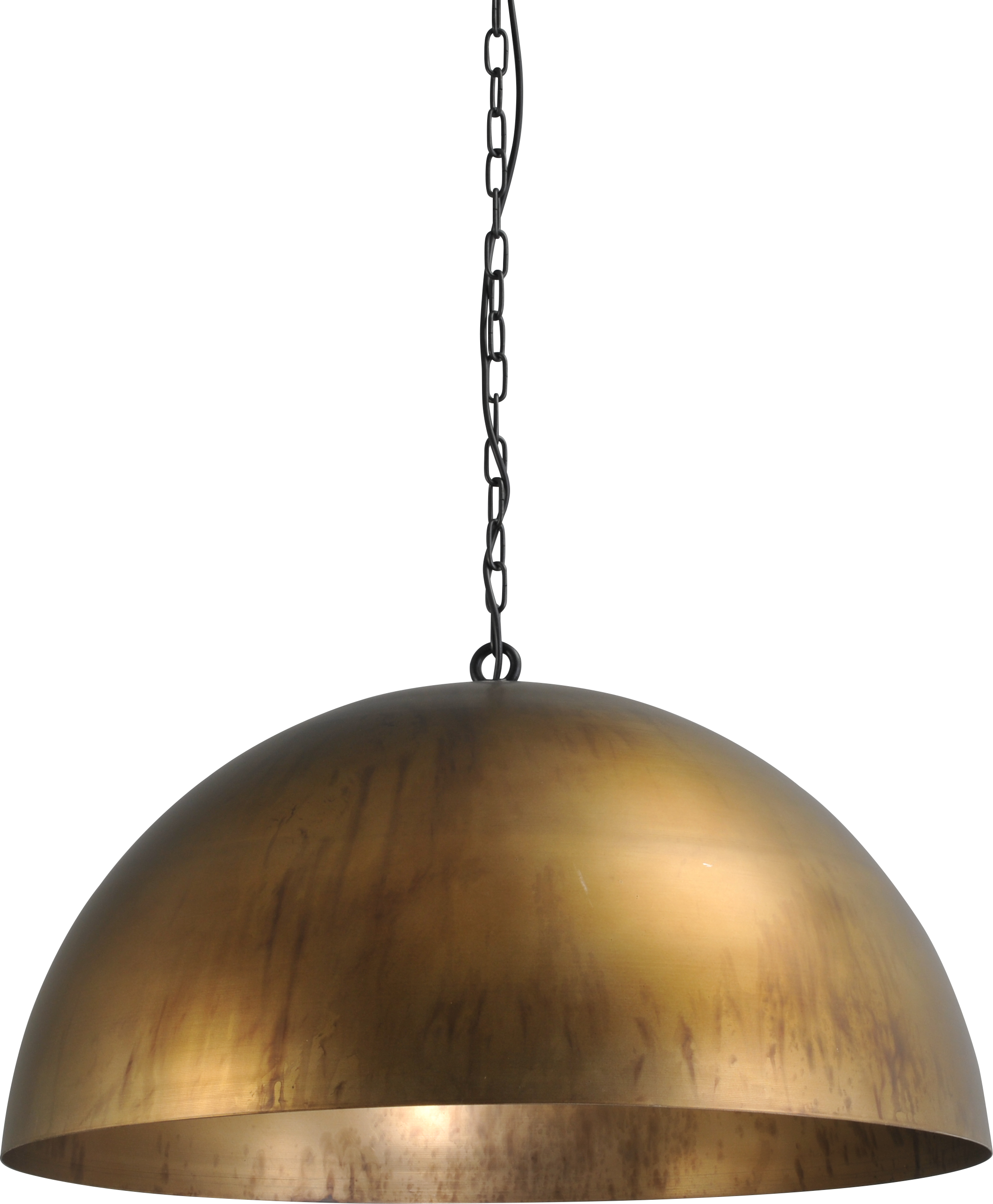Larino Antique Brass HL LARINO Ø80CM ANTIQUE BRASS OUTSIDE
