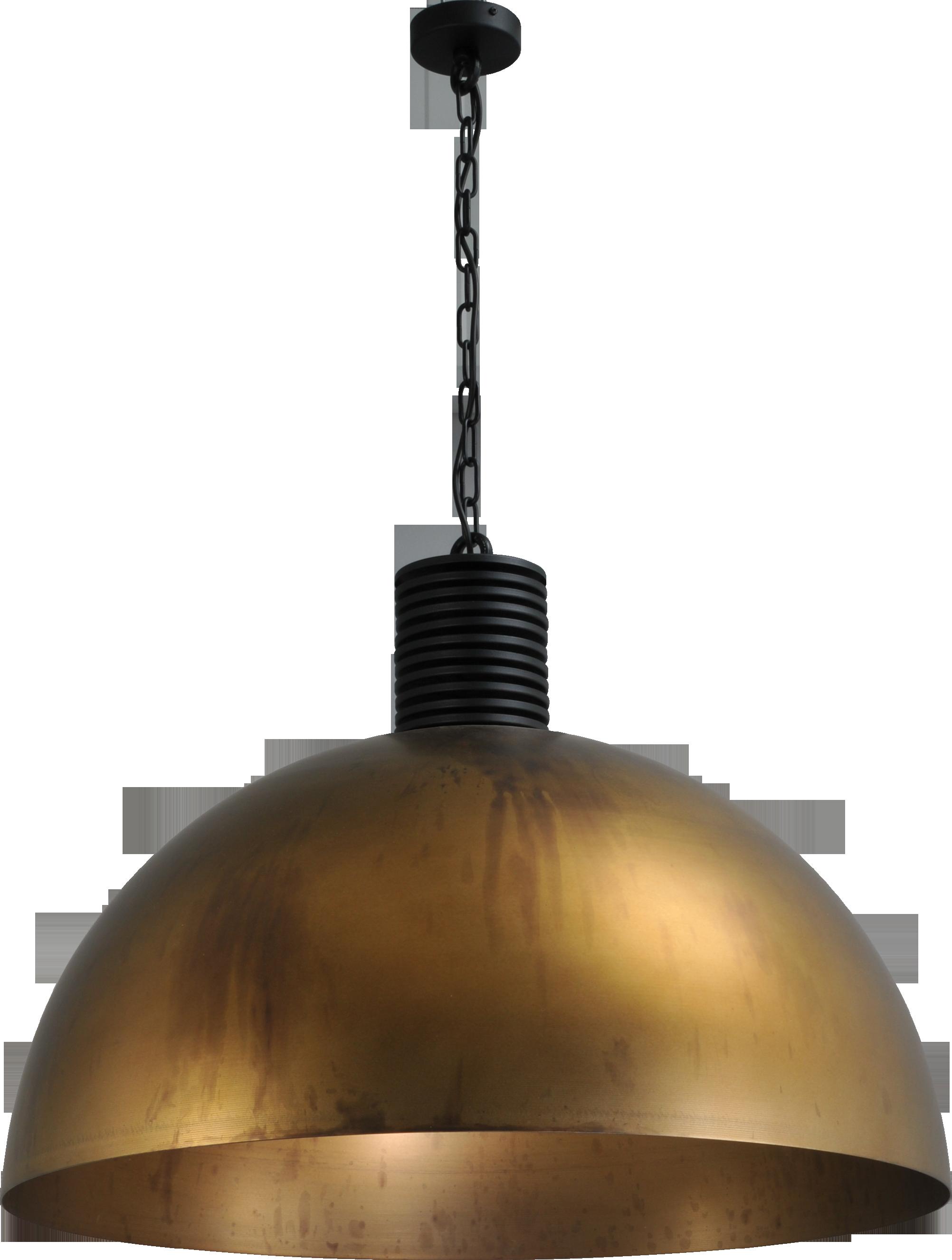Larino Antique Brass HL LARINO Ø80CM ANTIQUE BRASS OUTSIDE