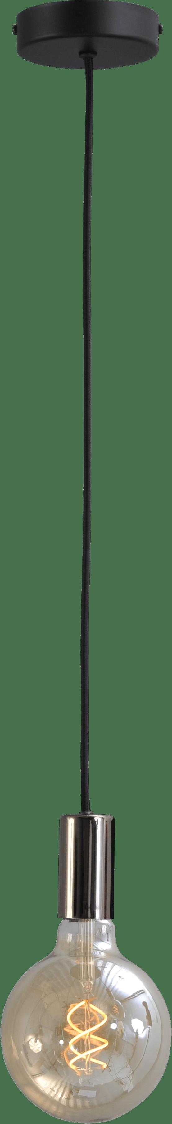 Tessi HL TESSI 1LTS PENDANT BLACK CHROME E27