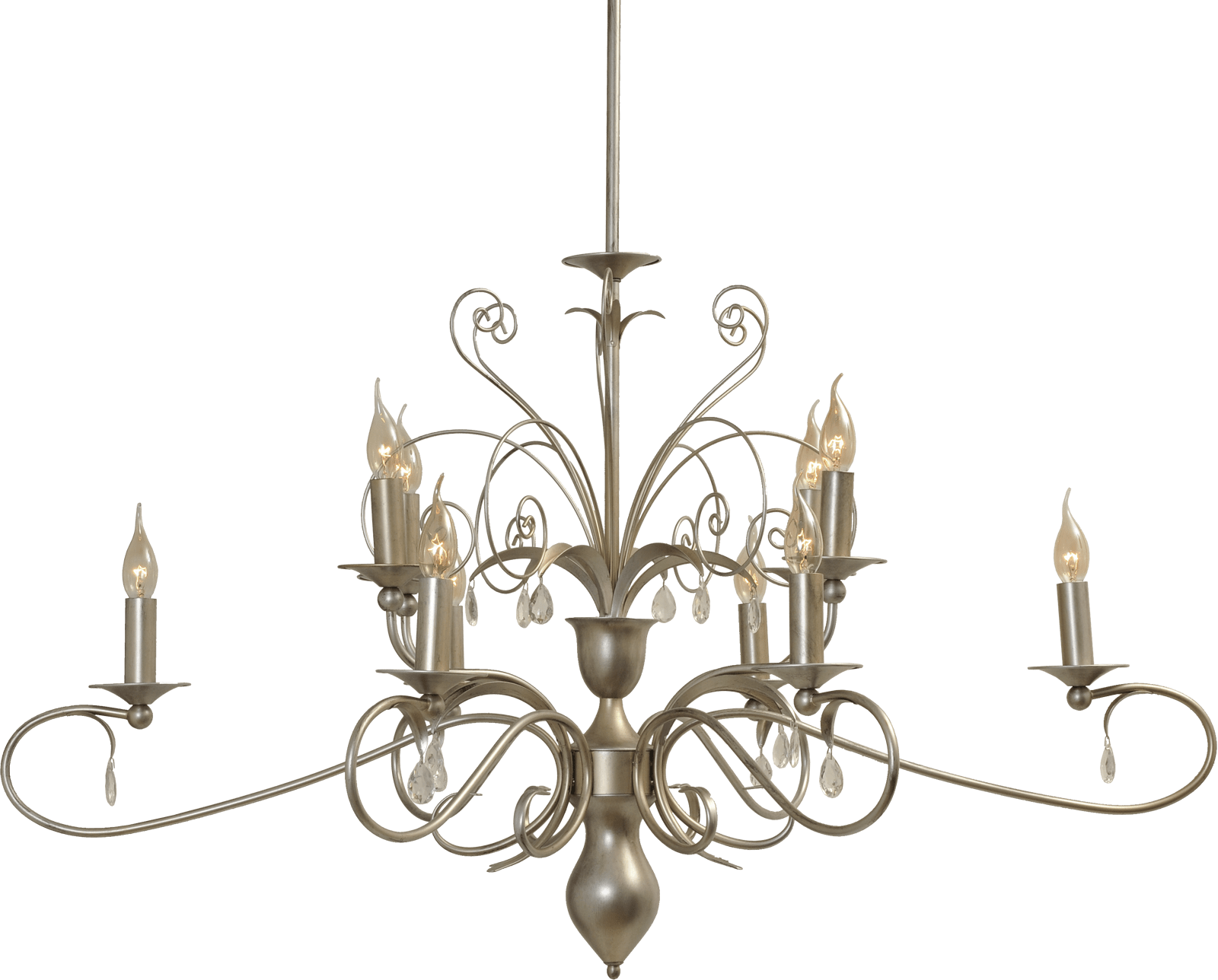 Moskow HL MOSKOW AGED SILVER 6+4LTS OVAAL 115CM68CM
