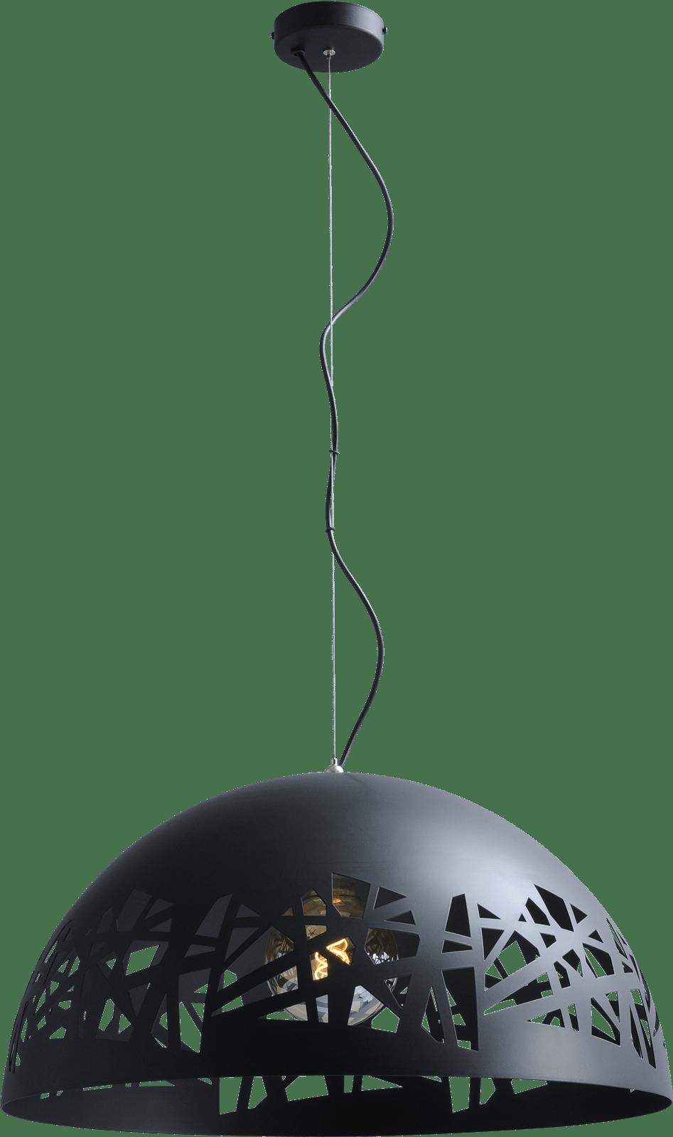 Grid HL LARINO GRID Ø60CM MATT BLACK/MATT BLACK