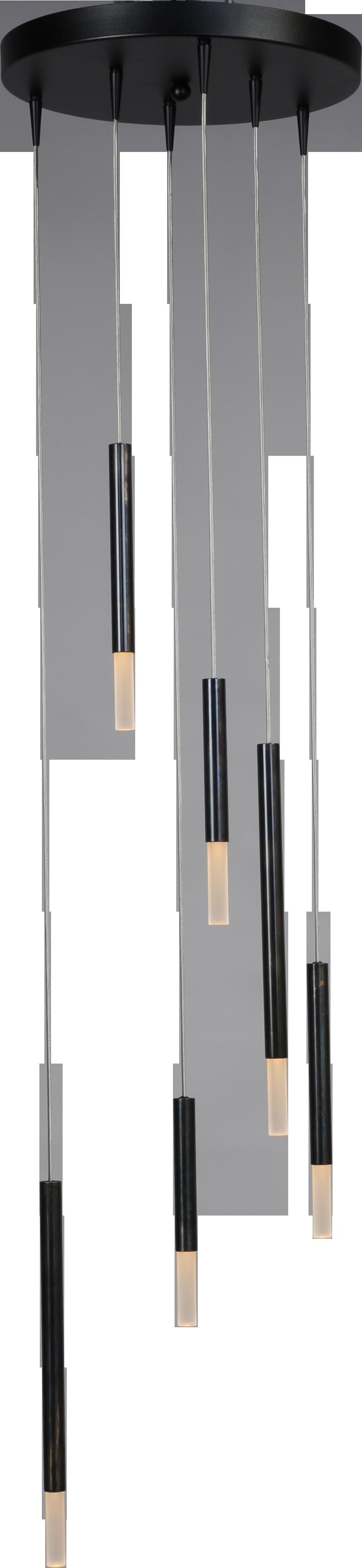 Flute HL FLUTE 6LTS BLACK/DAPPLED OIL Ø35CM
