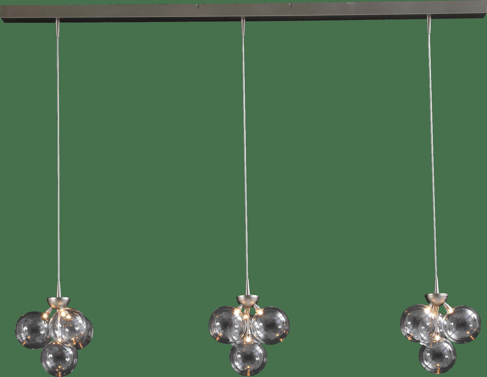 Bubble HL BUBBLE 3X4LTS NIKKEL 130X8CM DTW