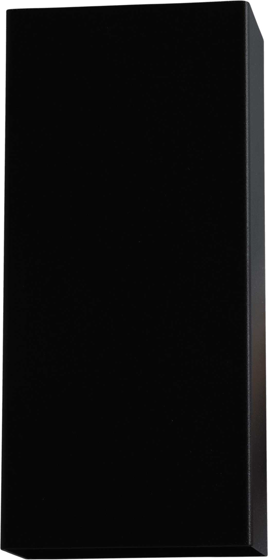 Metallico WL METALLICO MATT BLACK STRUCTURE 22X10CM