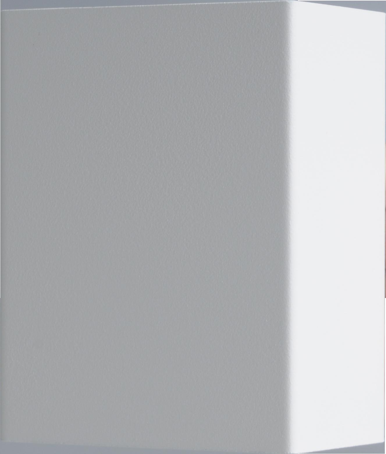 Metallico WL METALLICO MATT WHITE STRUCTURE 12X10CM