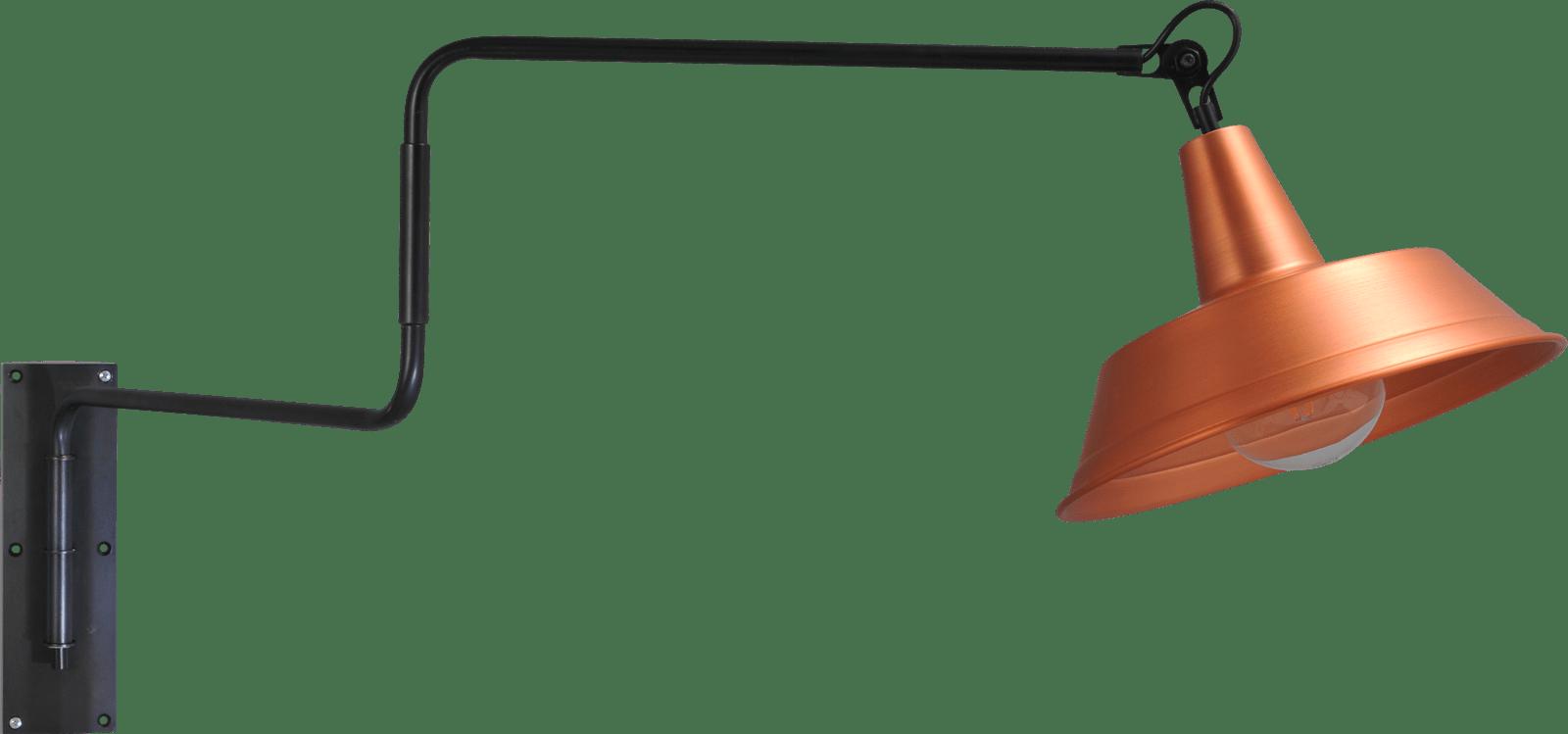 Prato WL PRATO MOVABLE ARM GUN METAL E27