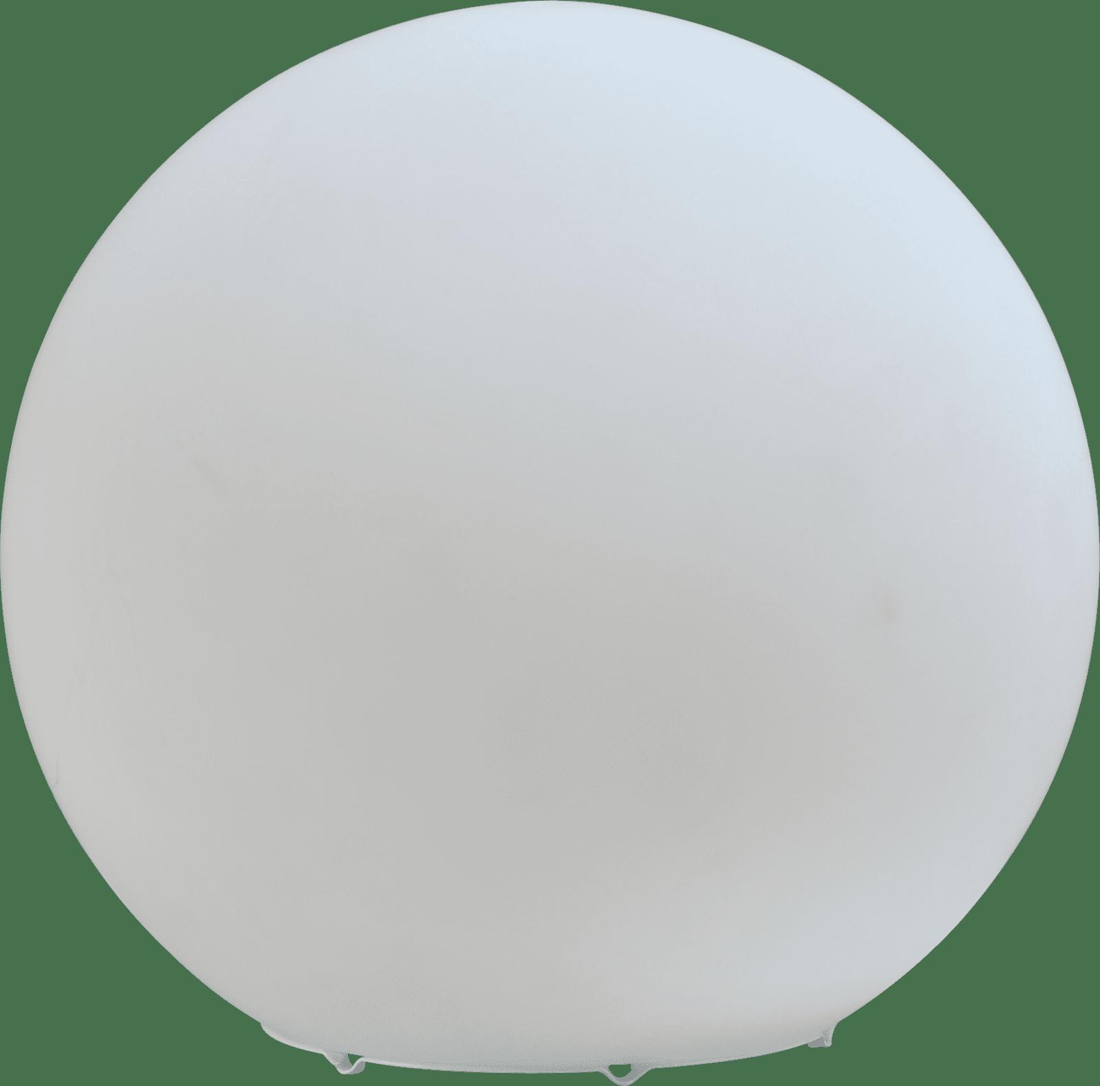Oblica TL OBLICA GLASS MATT WHITE Ø25CM