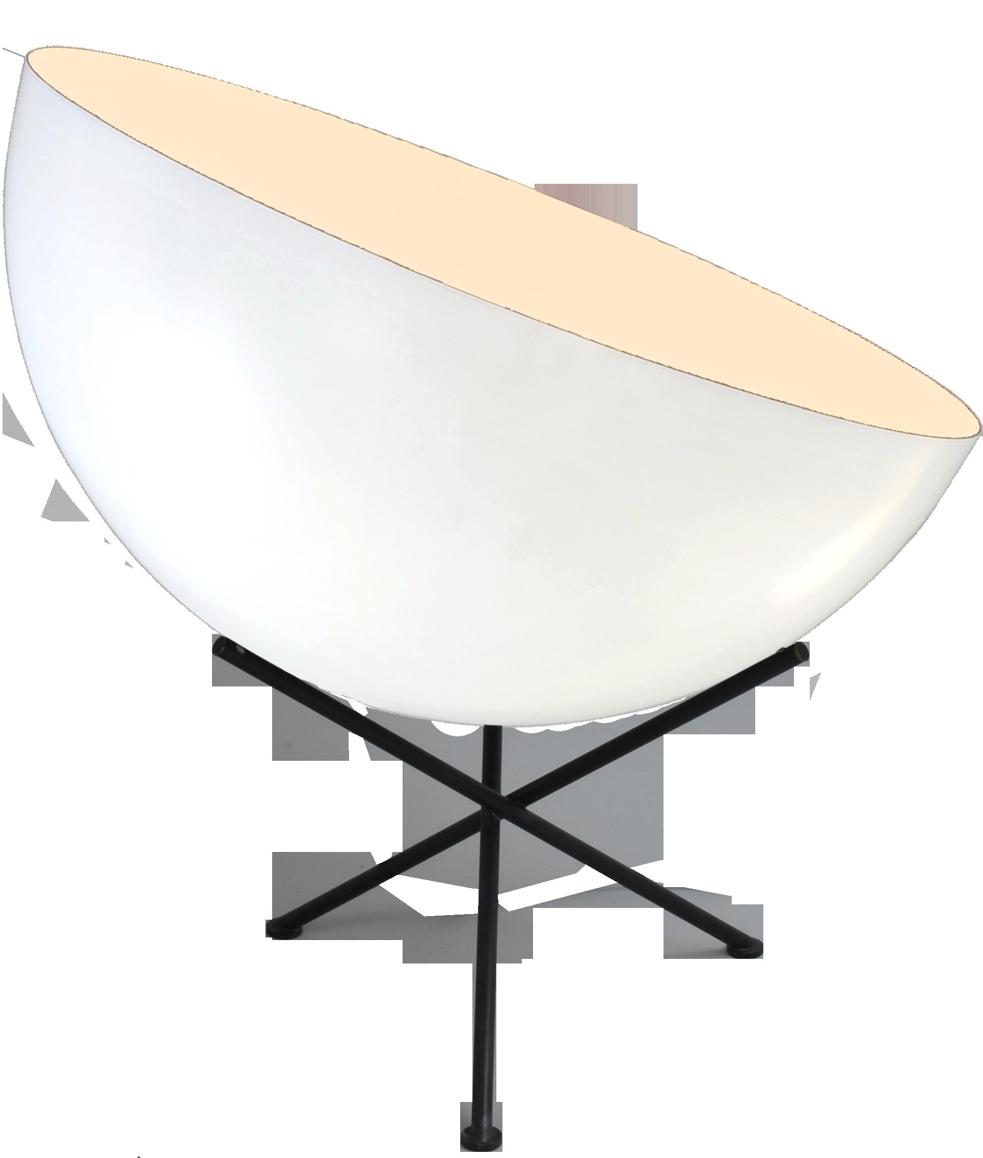 Larino White TL LARINO D.50CM WHITE OUTSIDE