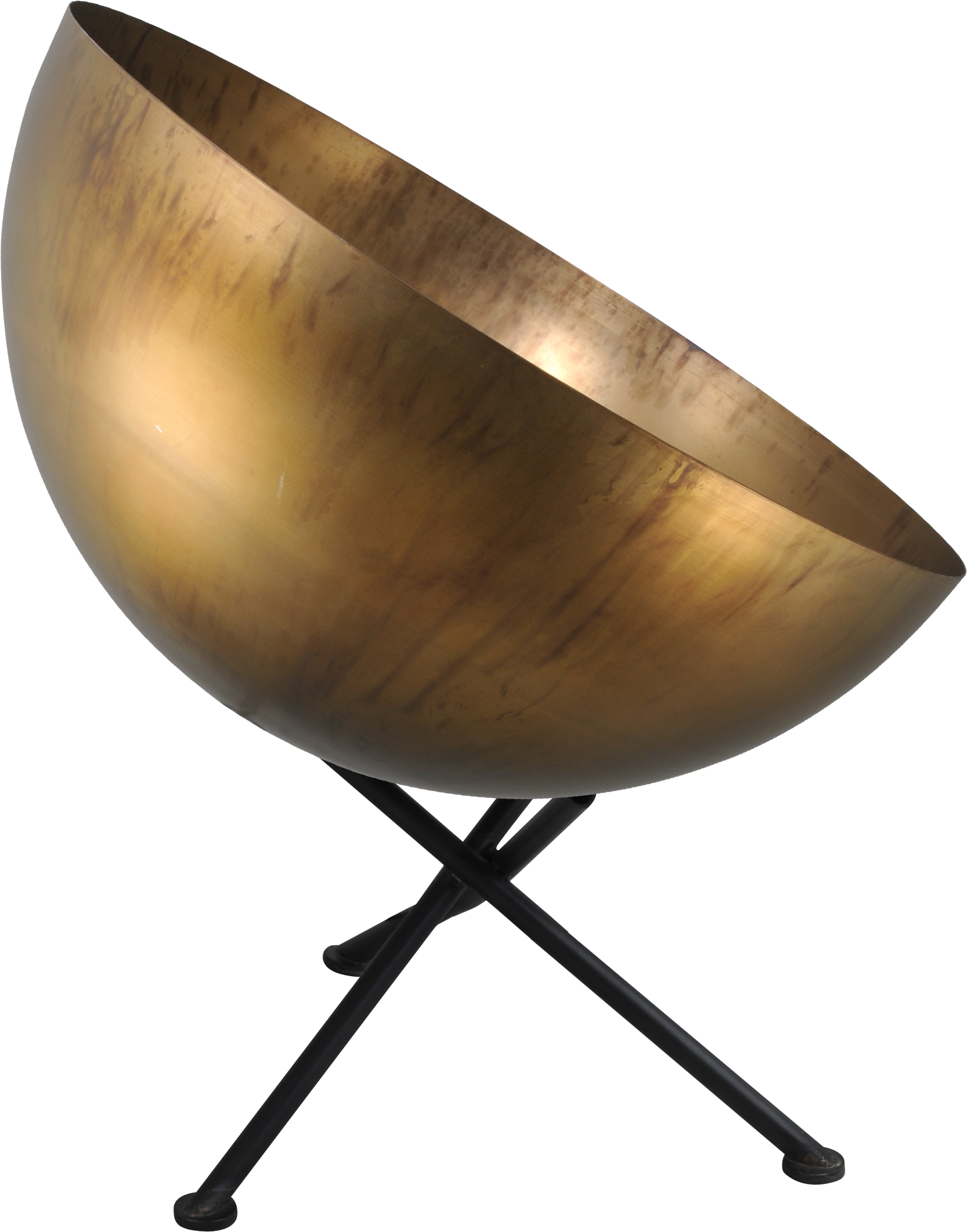 Larino Antique Brass TL LARINO D.40CM AGED BRASS EXTERIOR E27