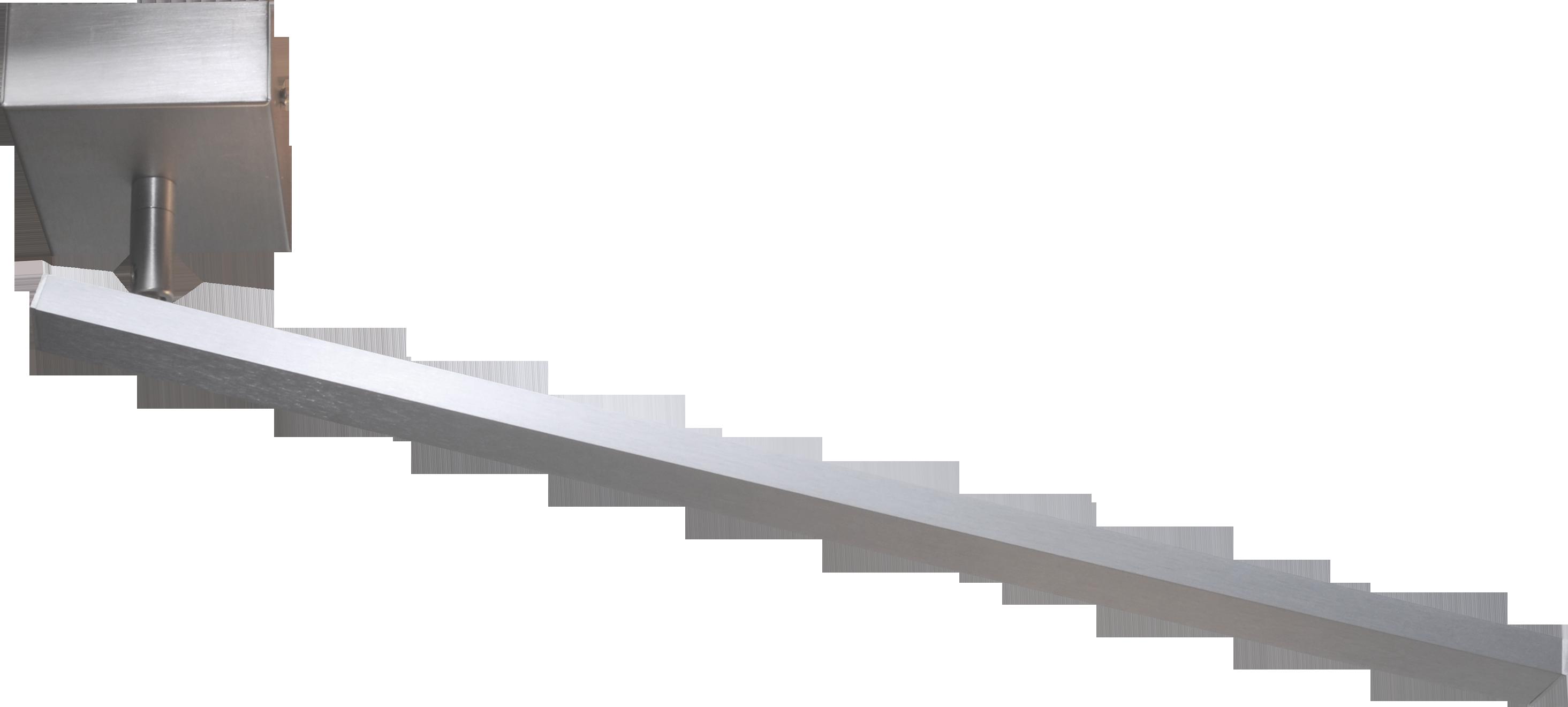 Real 2 PL REAL 2 NIKKEL L.55CM LED 10,6W 1650LM