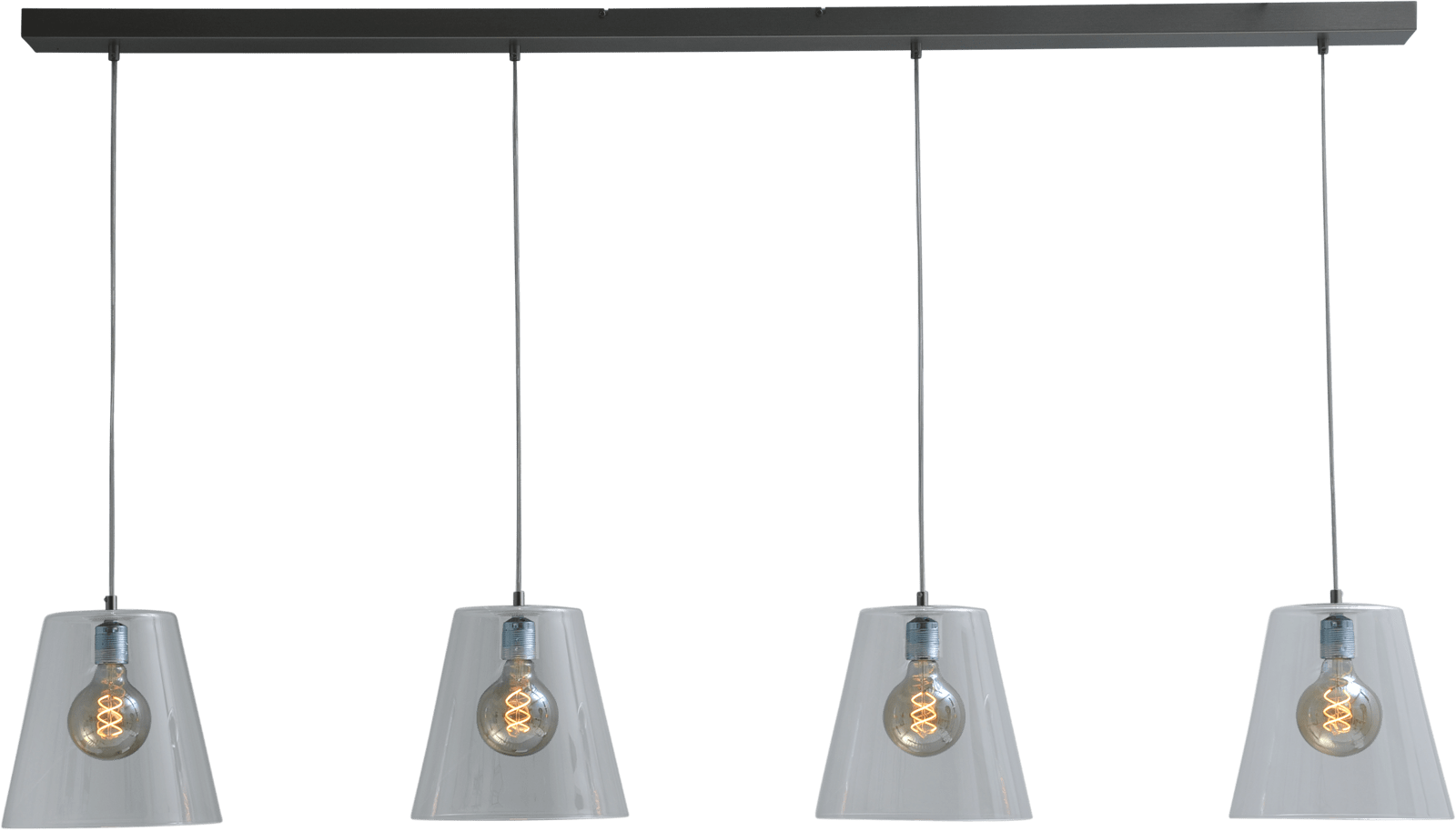 Baldi HL BALDI NICKEL 4LIGHT BEAM 160X8CM E27