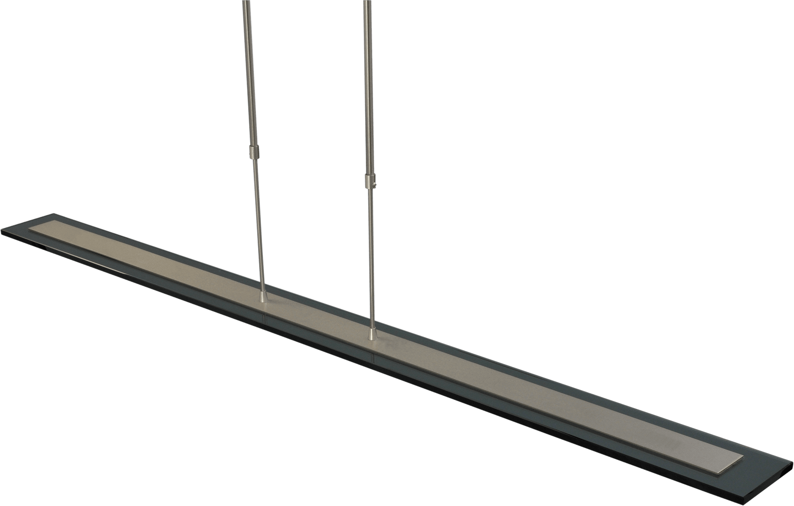 Vigo HL VIGO NICKEL 130CM RECTANGLE BLACK DTW
