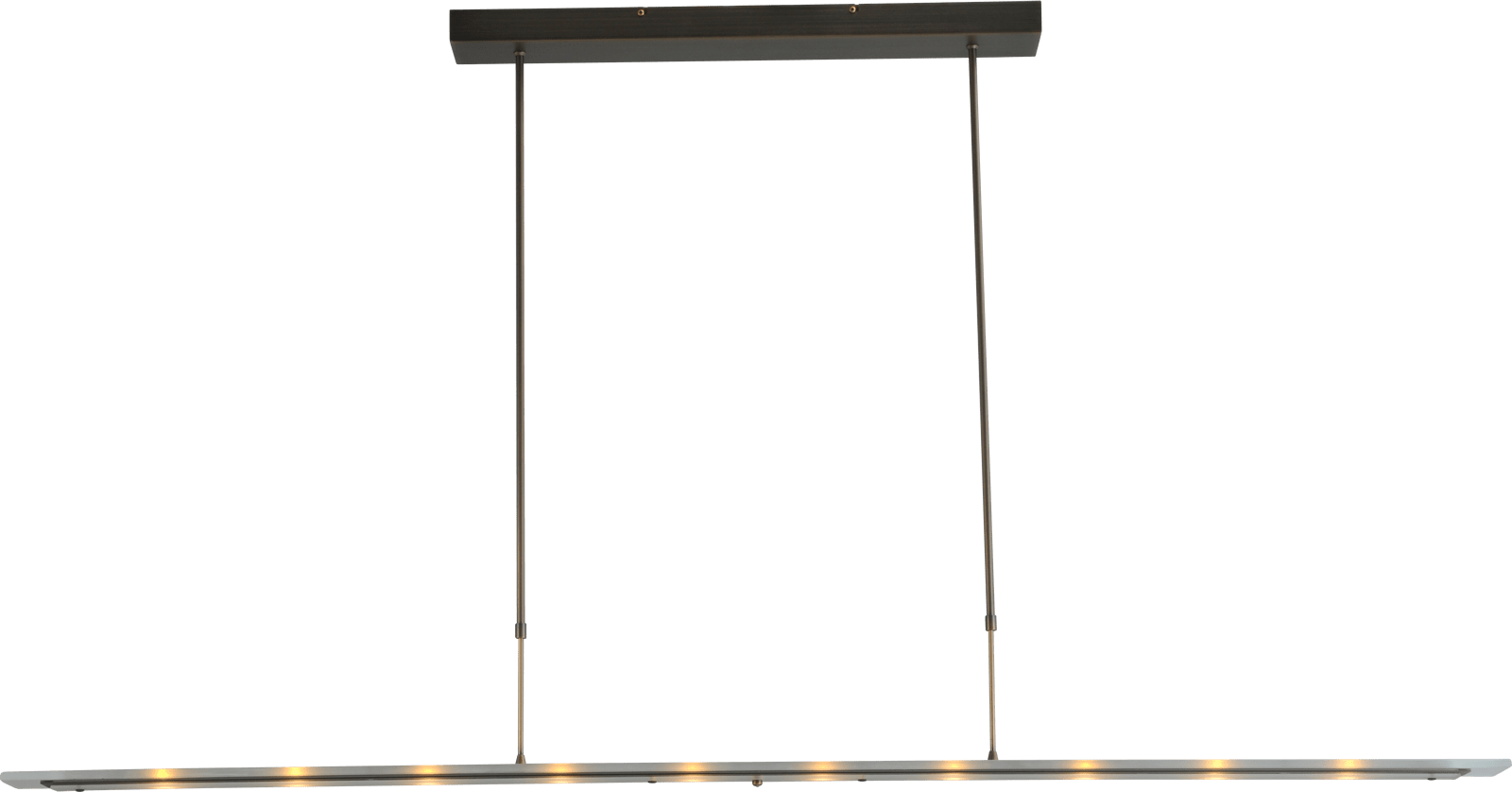 Vigo HL VIGO BRONZE 170CM RECTANGLE CLEAR DTW
