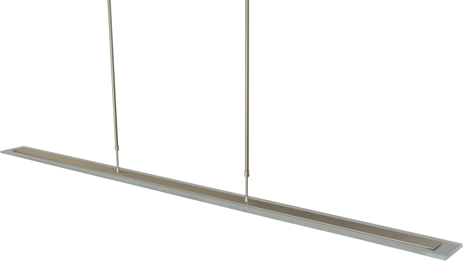 Vigo HL VIGO NICKEL 170CM RECTANGLE CLEAR DTW