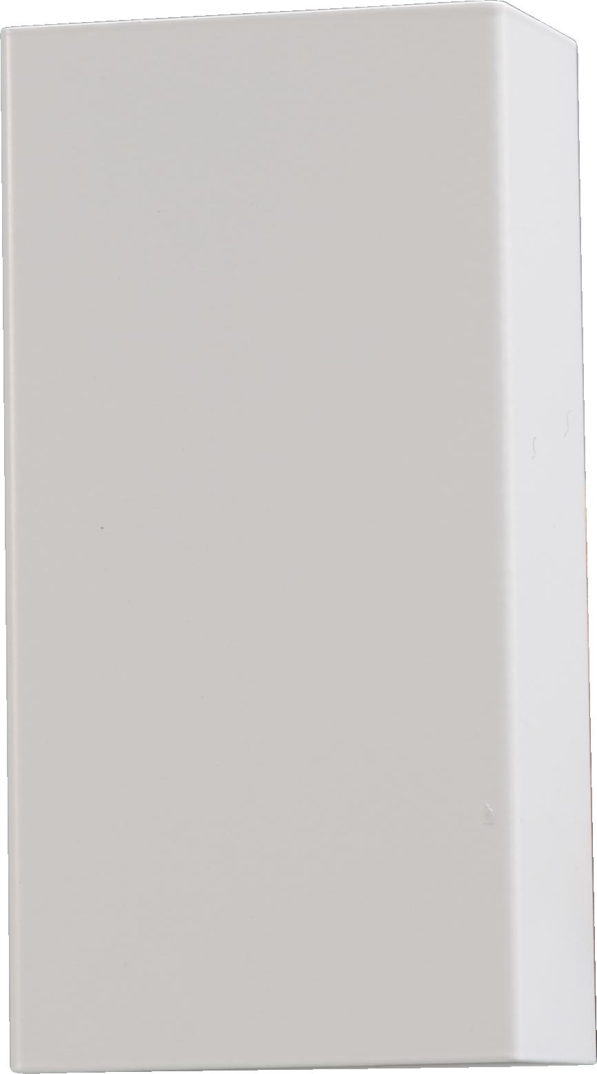 Metallico WL METALLICO MATT WHITE STRUCTURE 22X10CM
