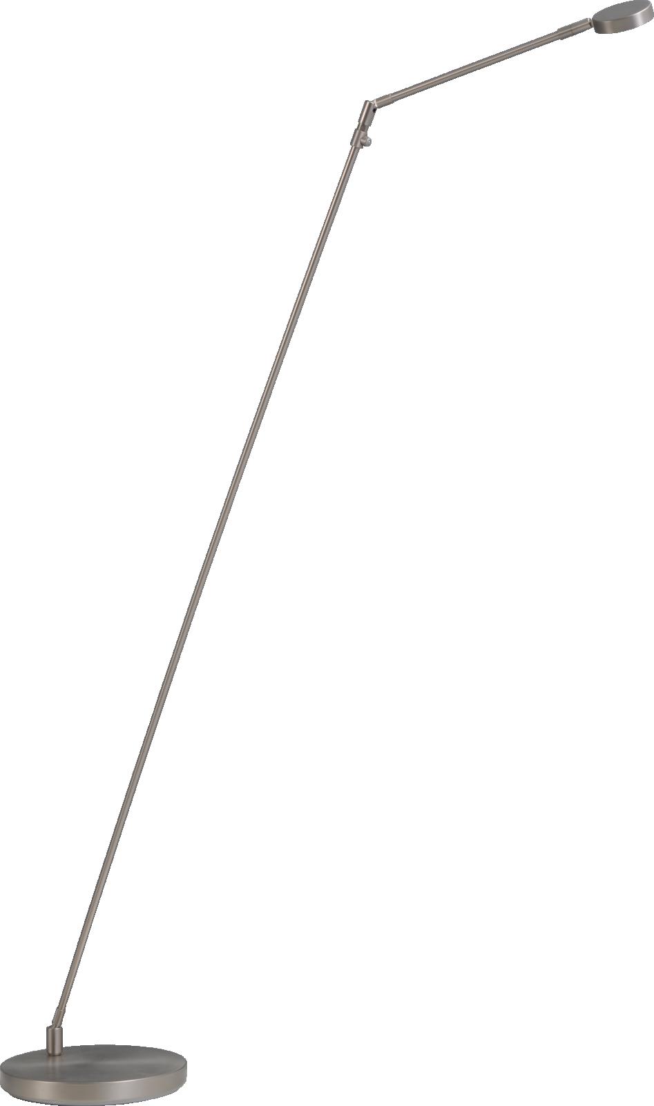 Denia 2 VL DENIA 2 NIKKEL ZWENK LEESLAMP H.130CM DTW