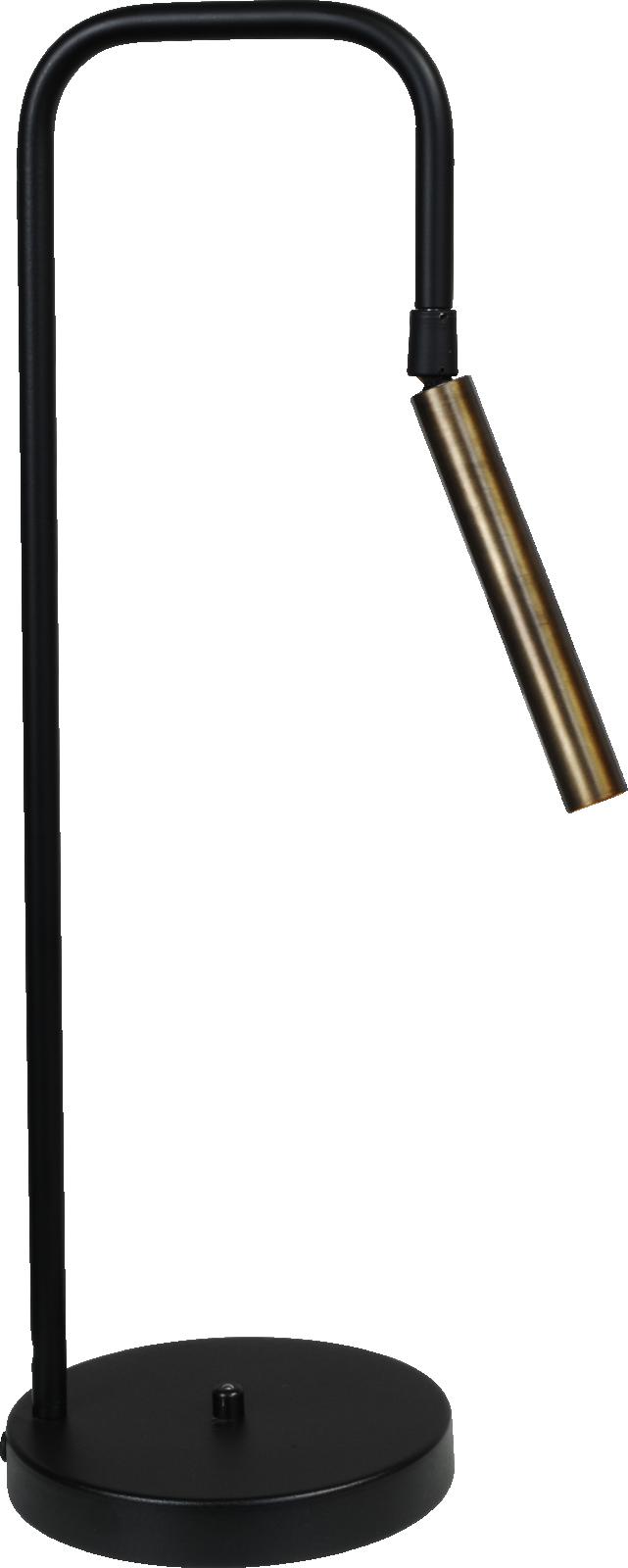Flute TL FLUTE 1LTS BLACK/ANTIQUE BRASS H.52CM